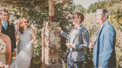 Rescheduling my garden wedding
