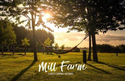View from Cambridgeshire Wedding Venue Mill Farm